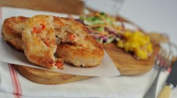 salmon and prawn fish cakes