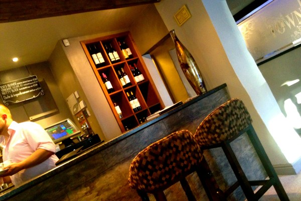 Bar Area at Towngate Brasserie