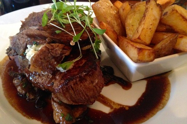 Fillet Steak at towngate brasserie