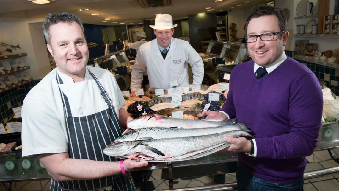 Ainsty Group link up with Ramus Seafoods of Harrogate.