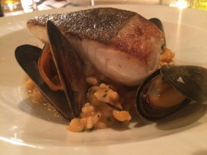 Halibut at Catch Seafood Restaurant