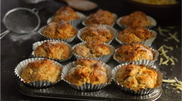 Pear & Cheese Muffins