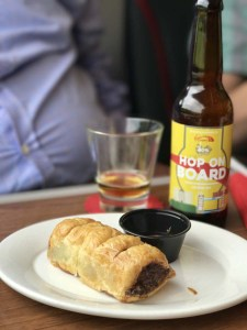 Virgin Trains East Coast sausage roll