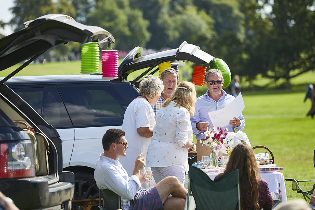 the Land Rover Burghley Horse Trials