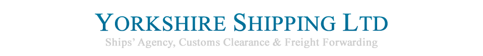 Logo for Yorkshire Shipping who are recruiting a Customs Clearance Administrator Apprentice