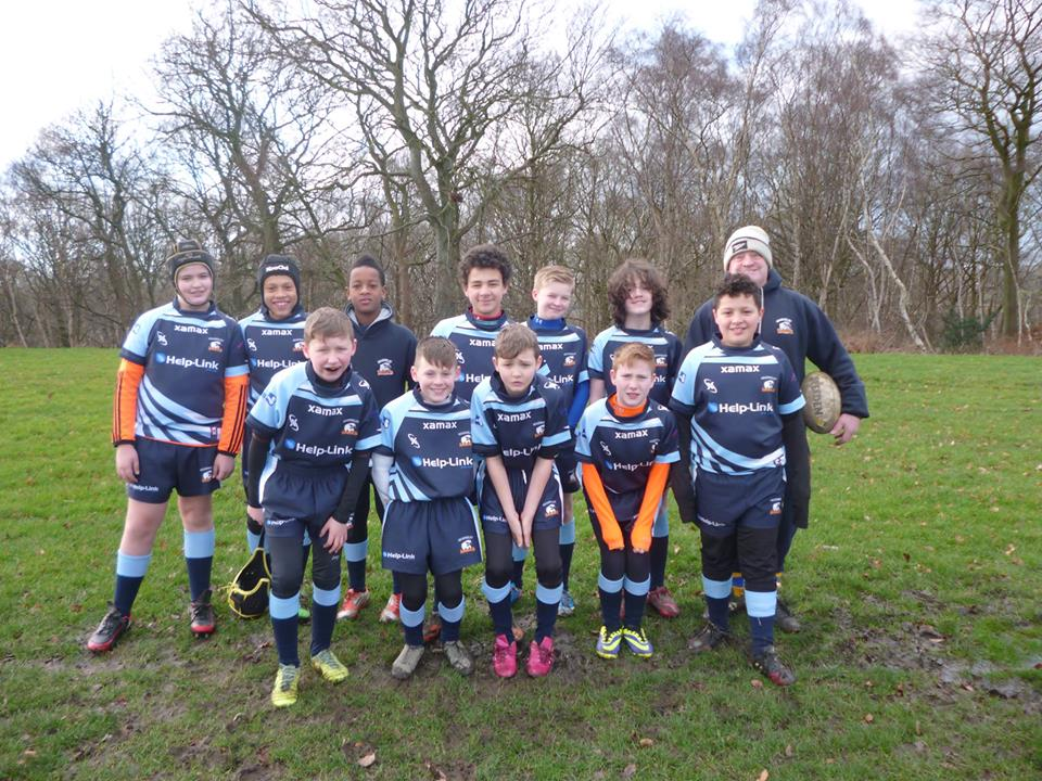 Headingley Hawks' training ground at Bus Vale in Meanwood.