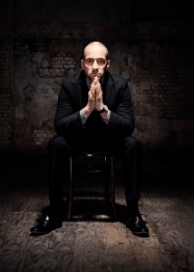 Derren Brown is set to take his Leeds Infamous audience on a journey of the mind.  Photograph taken by Seamus Ryan.
