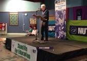 "Patrick Murphy tells striking teachers: ""You are putting children first."""