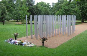 7/7 bombing memorial in Hyde Park, Leeds