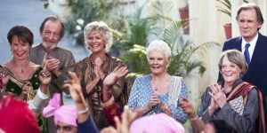 The cast of The Second Best Exotic Marigold Hotel