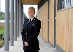 Temporary Chief Constable Dee Collins