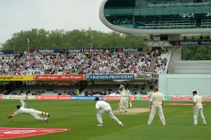 England in action against New Zealand in 2004