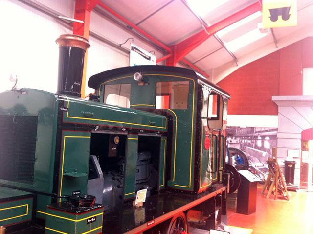 Steam train, Hunslet