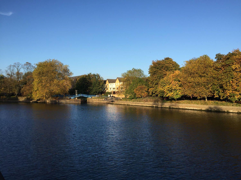 Autumn Colours - Walking along the River Ouse - York