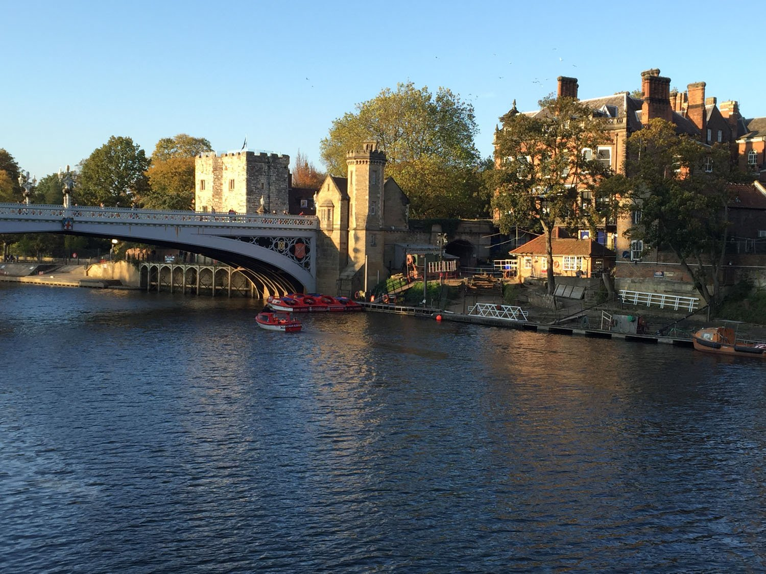 Autumn Colours - Lendal Bridge over the River Ouse - York