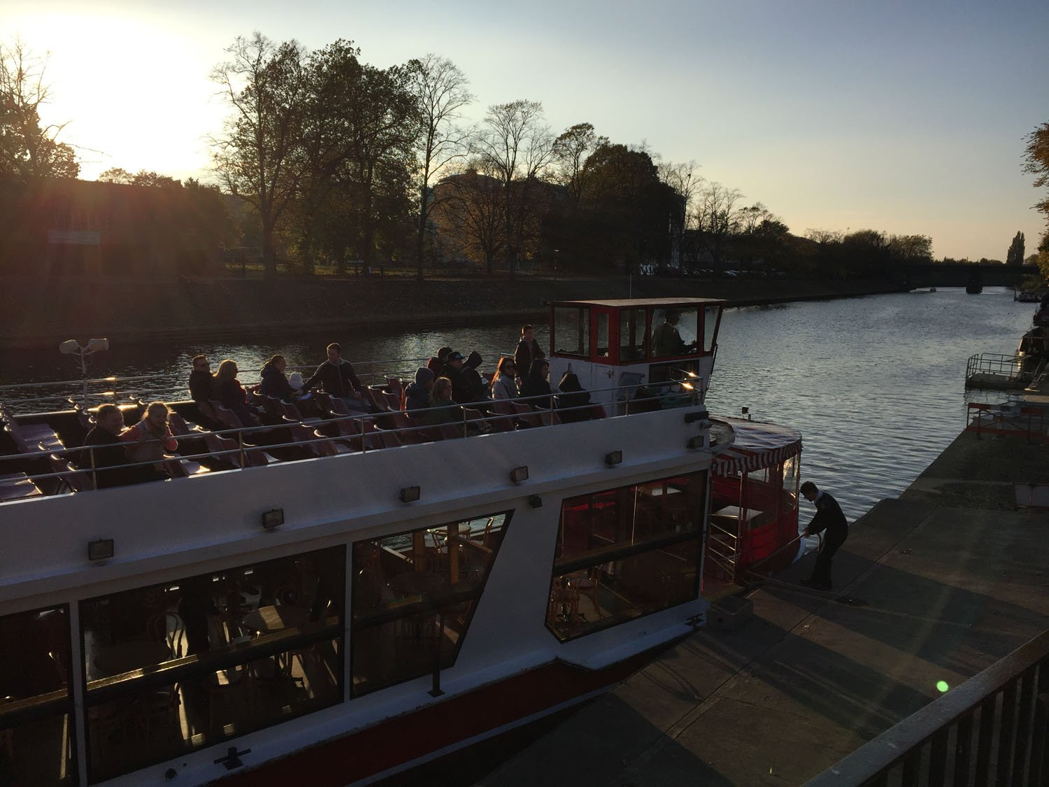 Autumn Colours - Tour boat - York
