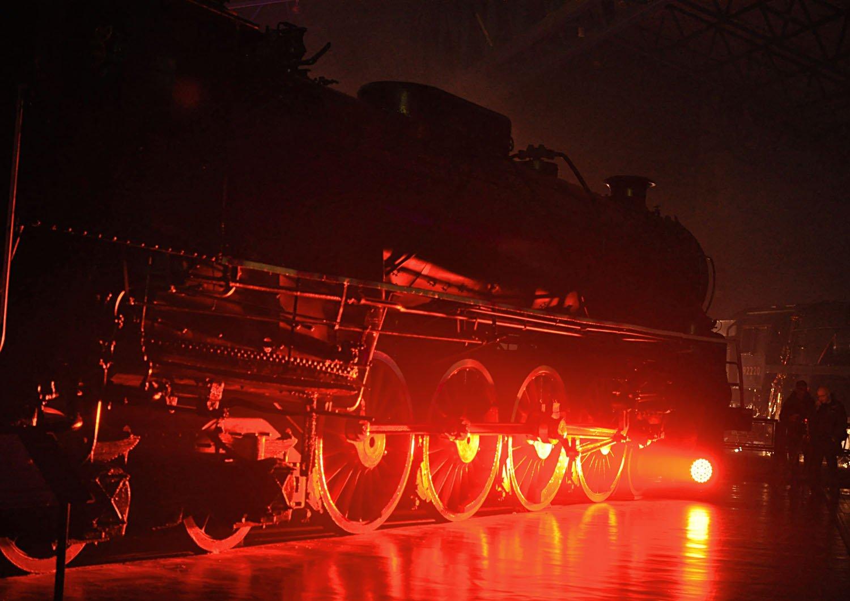 National Railway Museum York - Illuminating York 2015