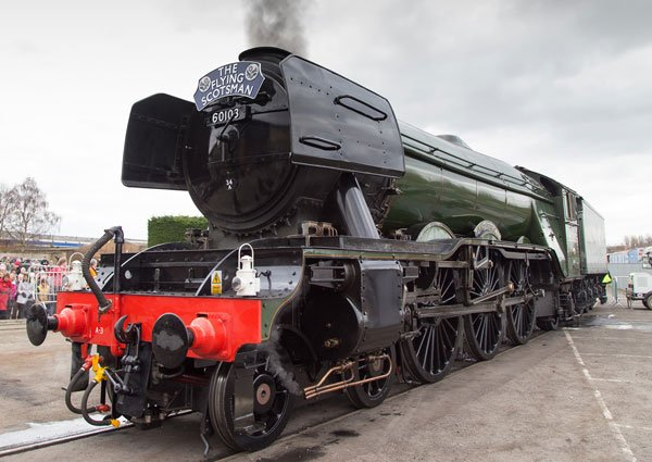 Flying Scotsman at the Railway Museum