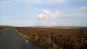 View across the moors