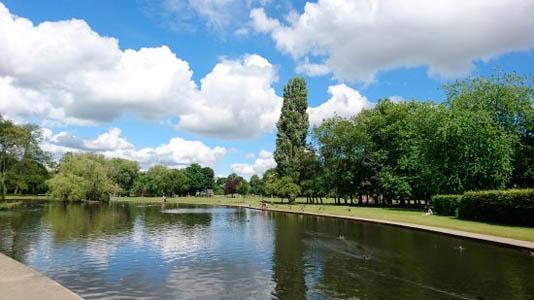 Rowntrees Park York