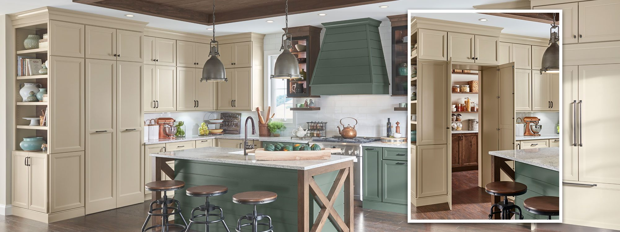 Yorktowne Cabinetry Hidden Treasure