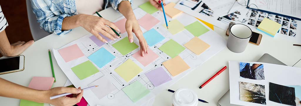 Free workflow template for SCRUM planning