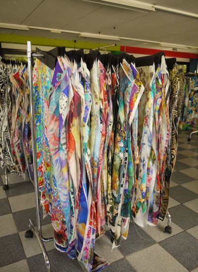 Italy's top designer silks!