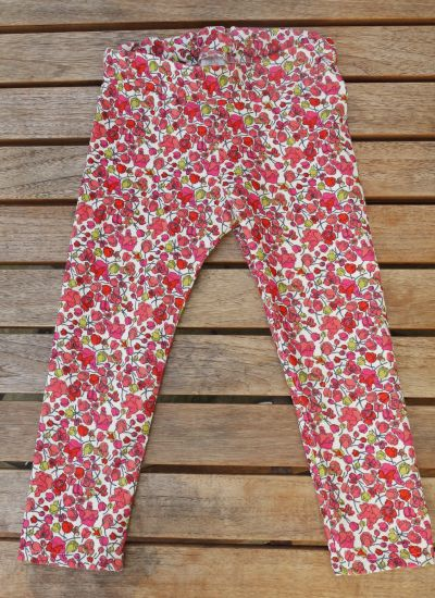 The Hosh Pants by LouBee Clothing in Liberty Art Fabrics baby cord cotton