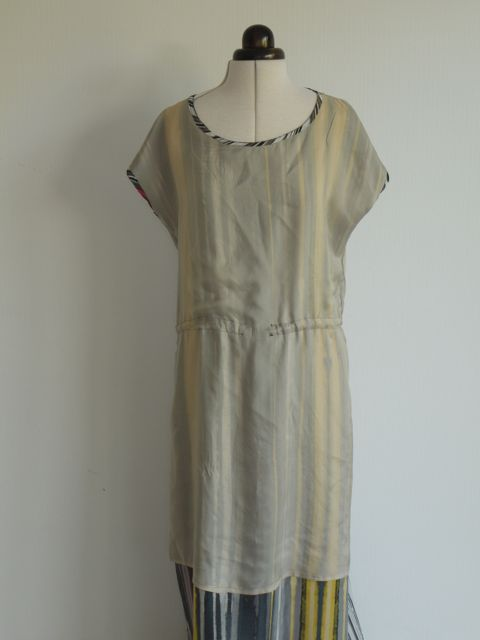 Lining of April Rhodes Staple dress as maxi.