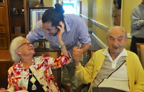Celebrating my grandfather's 100th birthday