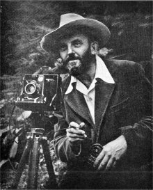 A photographer Ansel Adams