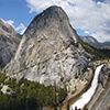 Vernal and Nevada Fall, Liberty Cap