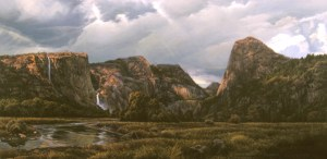 Artist, Brooks Anderson's vision of a restored Hetch Hetchy Valley