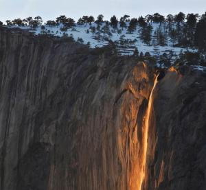 Horsetail Falls (Photographer Unknown)
