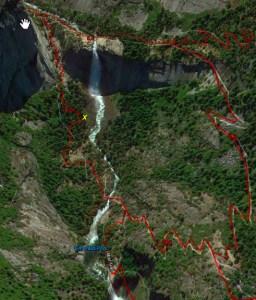 Nevada Falls Vantage Point