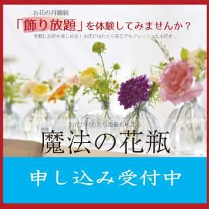 魔法の花瓶~花のある暮らし~