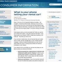 レンタカーに残る個人情報の危険性、米当局が注意