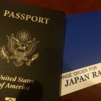 母国日本への旅支度 2019