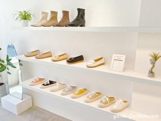 D+AF南西店二樓帆布鞋和短靴也是女孩必買款