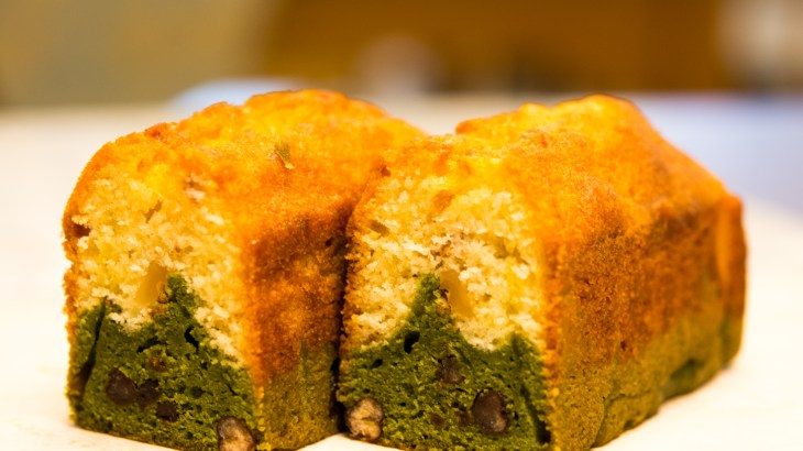 抹茶と白あんのパウンドケーキ期間限定販売