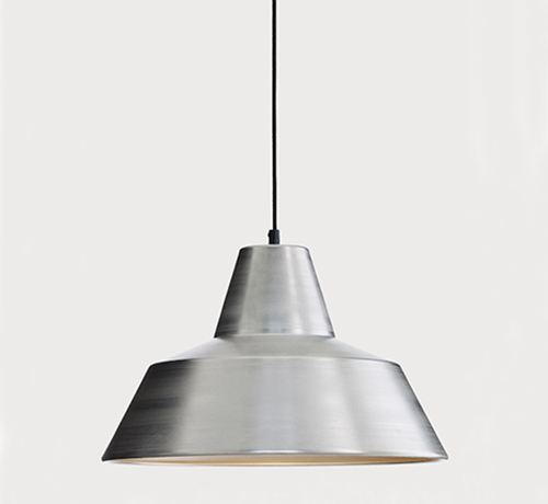 The work shop lamp Aluminum