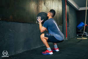 wallball evergy kevlar squat