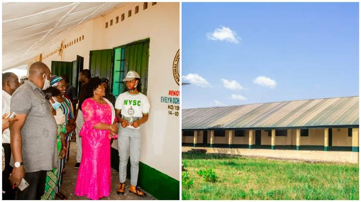 Meet Lady, Who Raised Funds to Renovate 16 Toilets and Bathroom During NYSC Year
