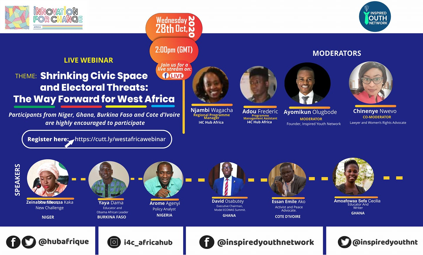 Read more about the article CSOs Hold Webinar on Shrinking Civic Space and Electoral Threats in Africa