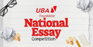 Read more about the article Apply for UBA Foundation National Essay Competition 2021 | N7.5m Prizes