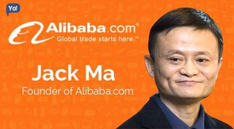 Image result for Jack Ma, CEO of Alibaba Group