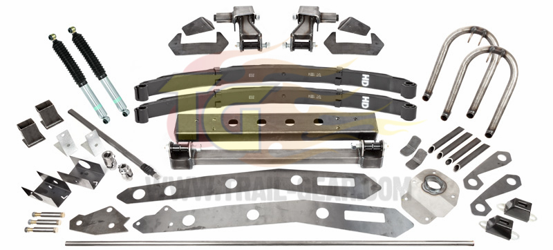 Tacoma 1995 5-2004 Solid Axle Swap (SAS) Kit