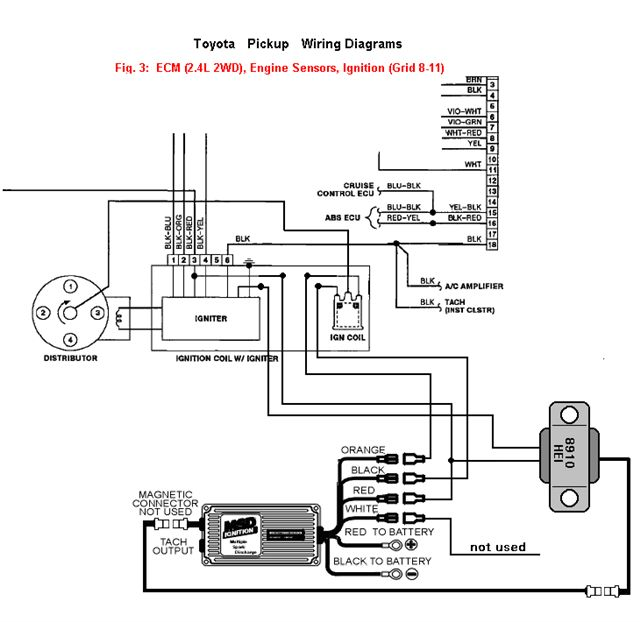 msd ignition wiring diagram toyota wiring diagram msd 6al wiring diagram toyota home diagrams msd 6a hei