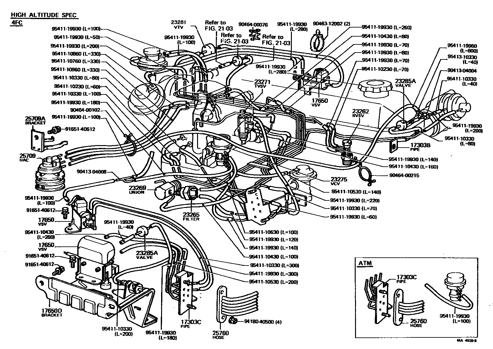 1997 Tacoma 3 4 Liter Engine Diagram - exclusive wiring ... on