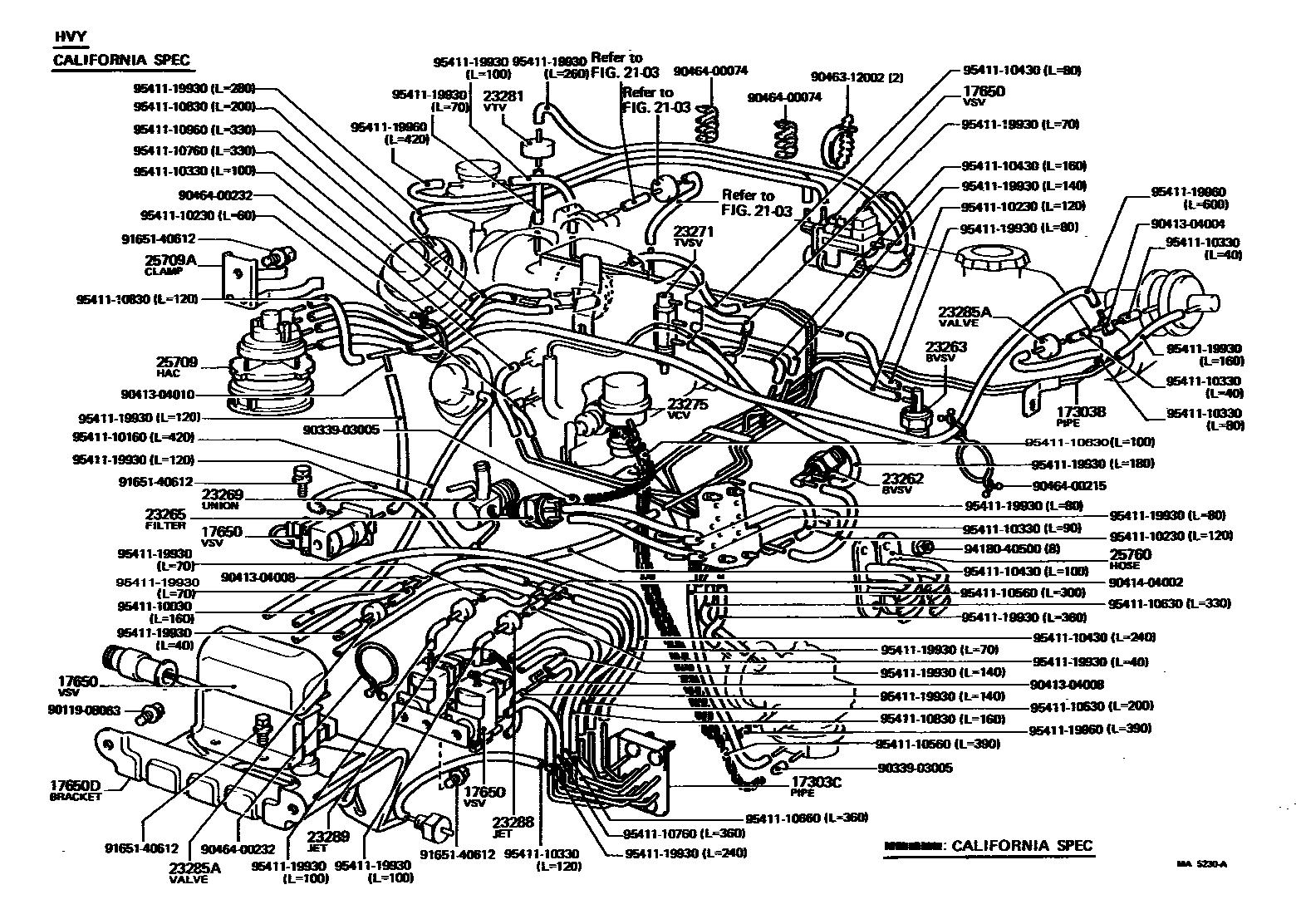 22r Carburetor Vacuum Diagram 1988 Toyota Wire 36